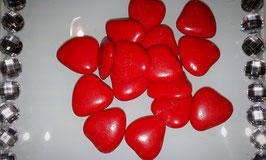 Cœur Chocolat Rouge Grand Modèle