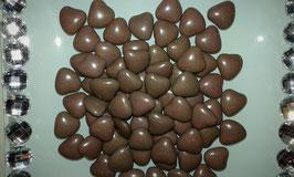 Petit Cœur Chocolat Taupe