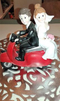 Couple sur Scooter