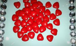 Petit Cœur Chocolat Rouge