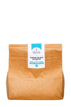 Farine Fraîche blanche de type 65 sac de 3 et 5 kilos
