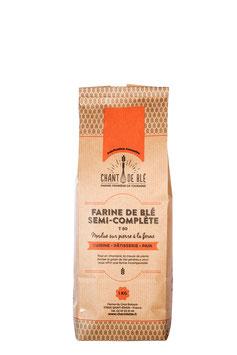 Farine Fraîche semi-complète de type 80 sac de 1 kilo