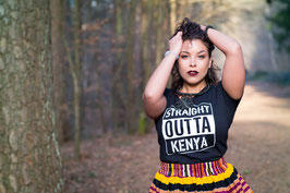 'Straight Outta Kenya' T-shirt