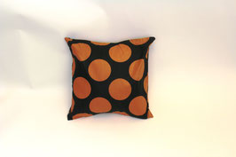 Brown Polka dot Cushion Cover - Kissenbezug