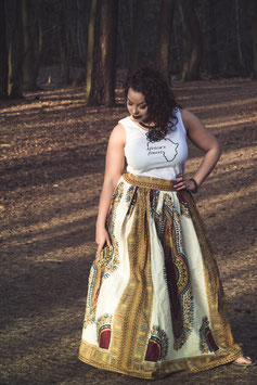 Dashiki/Angelina Maxi skirt