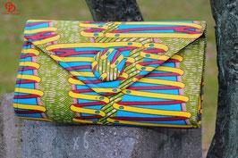 Handmade African Print Clutch Bag