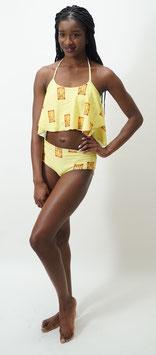 Peplum Top Bikini