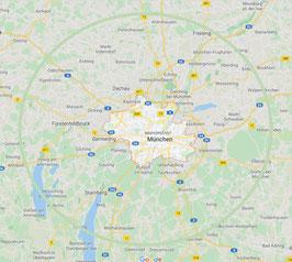 EMS München Zone 3 und 4