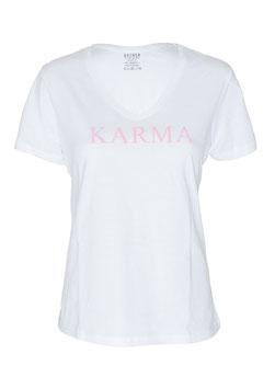 "GATHER Hamburg Shirt ""KARMA"" (V-Ausschnitt)"