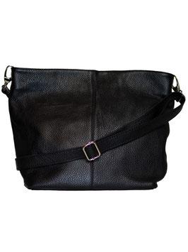 Genuine Leather Tasche Schwarz