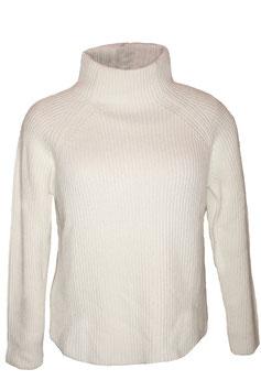 ME & LOU Pullover Creme Weiß Größe L