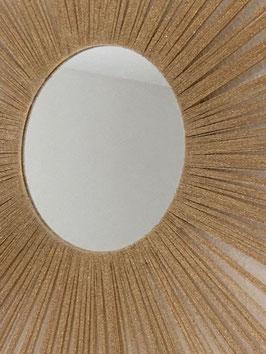 Miroir décoratif or