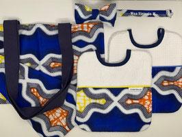 Coffret Wax Bleu/Jaune/Orange