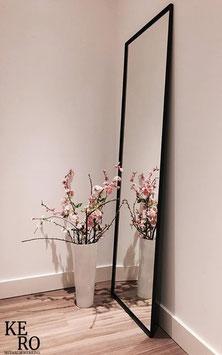 Spiegellijst 190 x 60 cm - zwart