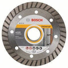 "DISCO TURBO DIAMANTADO STANDARD 4 1/2"" BOSCH"