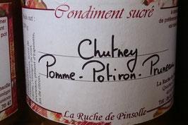 Chutney de Pomme-Potiron-Pruneaux