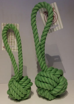Wurfball mit Schlaufe grün