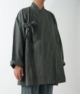 ヂェン先生のカシュクールコート カーキ L
