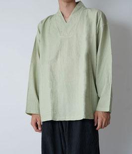 ヂェン先生のプルオーバー薄地 淡緑 Mサイズ