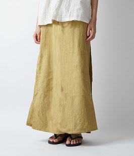 ヂェン先生のスカートパンツ 薄芥子 Mサイズ(W60)