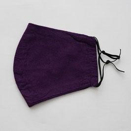 ヂェン先生の布マスク 紫