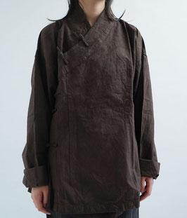 ヂェン先生のかさねチャイナ厚地 茶 密織