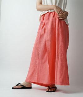 ヂェン先生のスカートパンツ 朱鷺色 Mサイズ(W61)