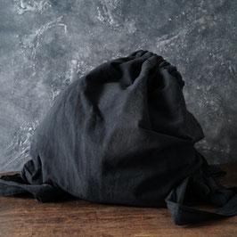 ヂェン先生の背負いリュック 墨黒