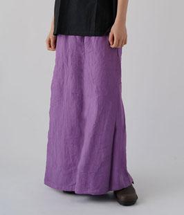 ヂェン先生のスカートパンツ 薄紫 Mサイズ