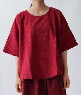 ヂェン先生 半袖Tシャツショート 紅