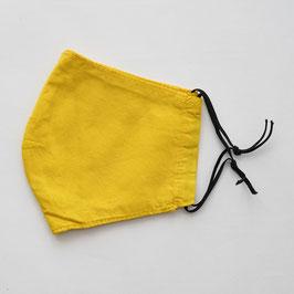 ヂェン先生の布マスク 黄