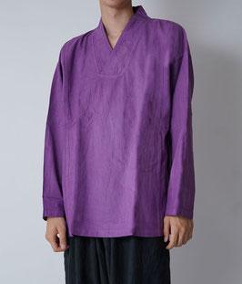 ヂェン先生のプルオーバー薄地 薄紫 Mサイズ