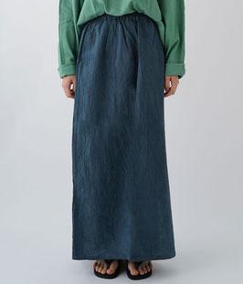 ヂェン先生のシンプルスカート薄手 薄紺(W54)