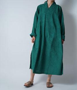 ヂェン先生のプルオーバーワンピース 緑