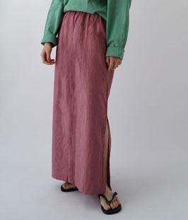 ヂェン先生のシンプルスカート薄手 長春色(W56)