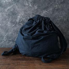 ヂェン先生の背負いリュック 濃紺