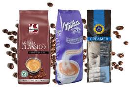 Splendid Aroma Classico + Milka Kakao + Creamer