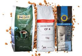 Jacobs Krönung + CF 4 Kakao + Creamer