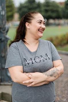 MOM Shirt Grey