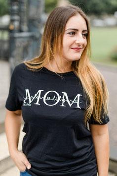MOM Shirt Black