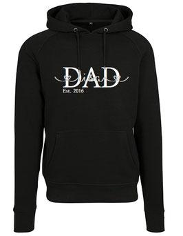 DAD Hoody Black