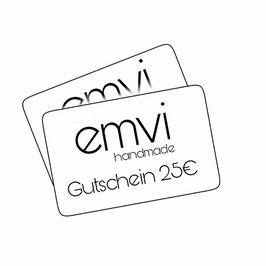 Emvi Geschenk Gutscheine 50€