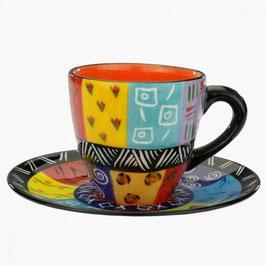 Kaffeetasse & Untertasse K/U 01