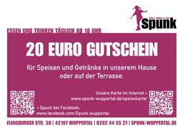 Gutschein über 10, 20, 30 oder 50 Euro