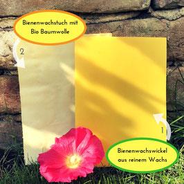 Bienenwachswickel / Bienenwachstuch