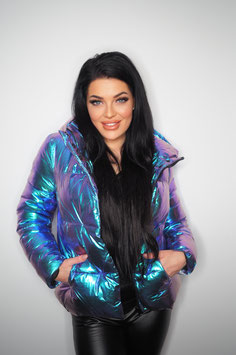 Metalic Blue Jacket