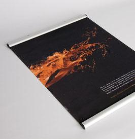 Textilposter inkl. Alu-Profile