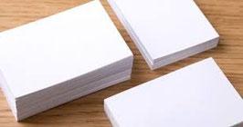 Visitenkarten 2-seitig 8.5 cm x 5.5 cm