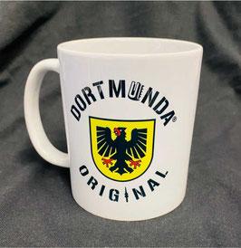 Tasse weiß  Dortmunda-Original-Stadtwappen