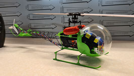 Scalebausatz Bell 47G 230er